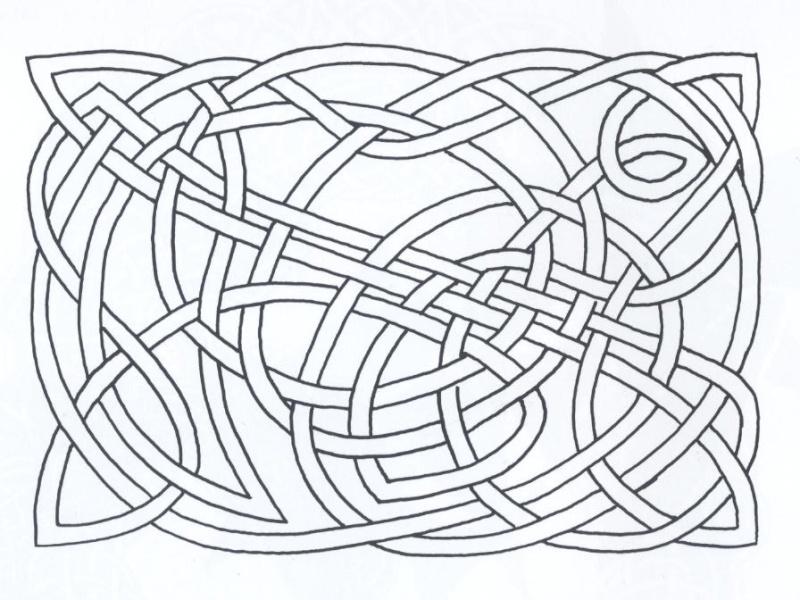Motifs celtiques contemporains, de Alex Sherman Motifs16