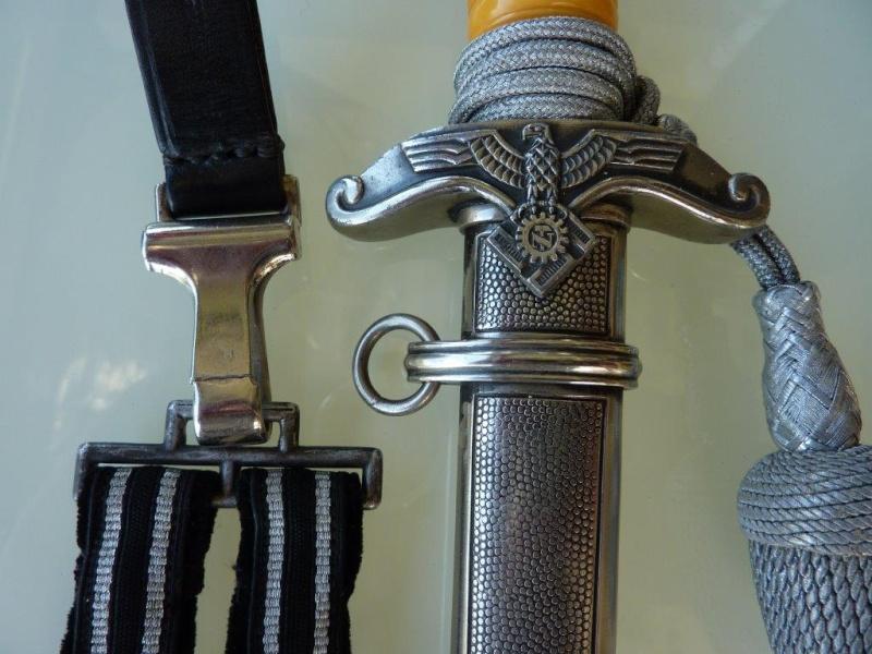 Dague Officier Teno (complète) - Eickhorn P1210128