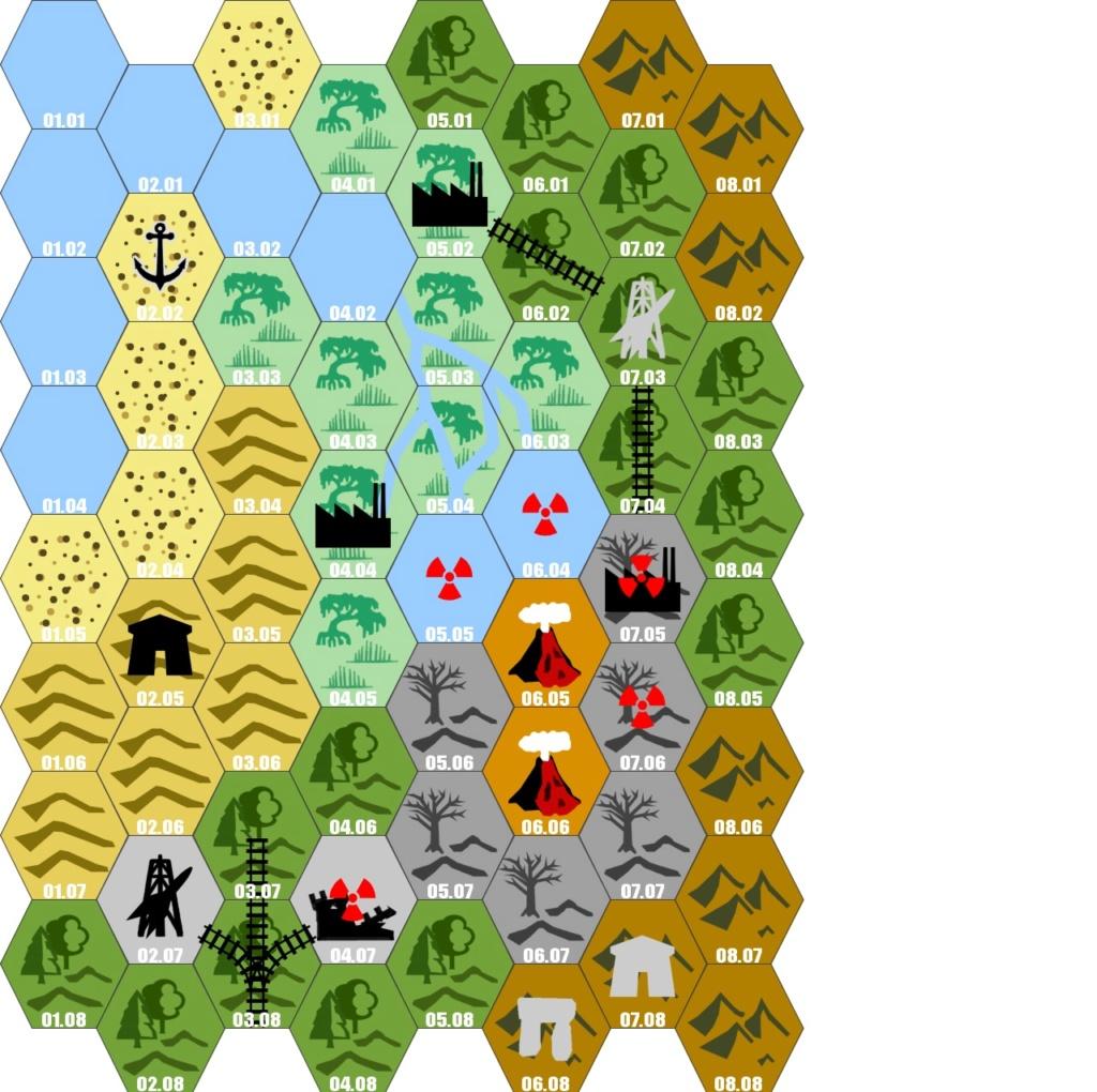 Carte et Fluff de la Planète T0main11