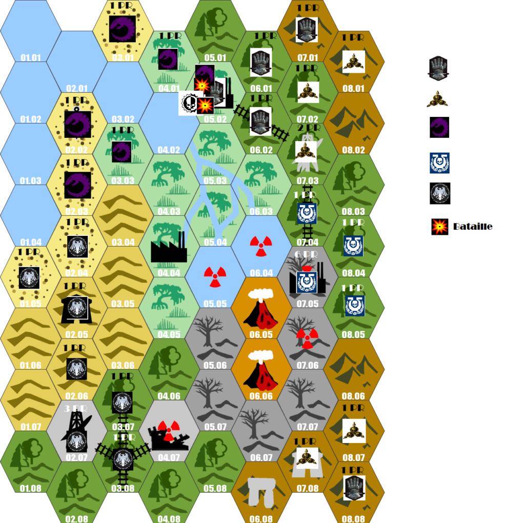 Carte et Fluff de la Planète T0main13