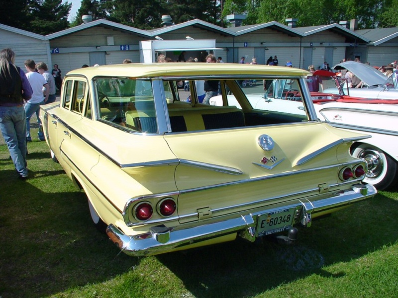 Chevy station wagon 1960 FINI 1960_c10