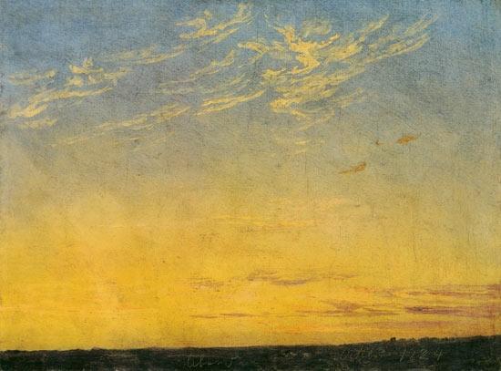 « Parfois les nuages reposent les gens d'admirer la lune » Aa317