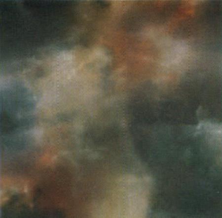 « Parfois les nuages reposent les gens d'admirer la lune » Aa326