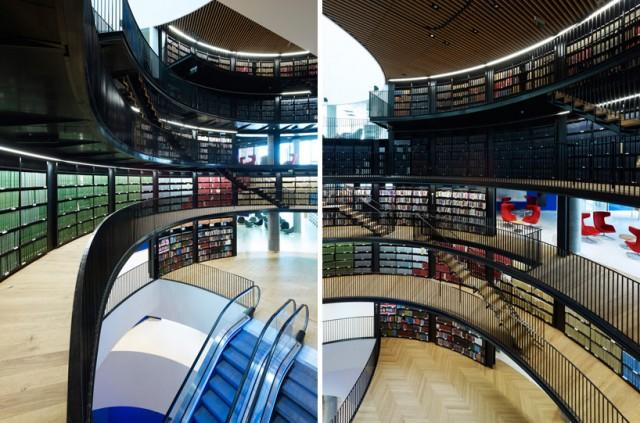 Des bibliothèques prestigieuses. Aa413