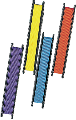 Les différents élastiques intérieurs (pêche au coup) Diffar10