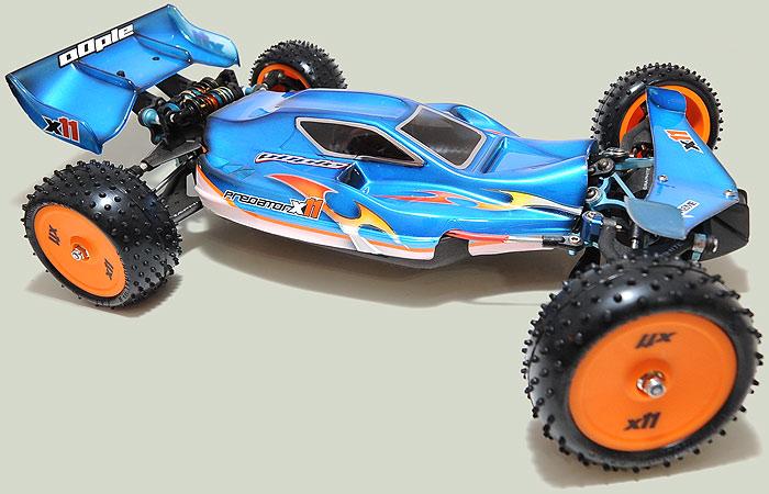 Predator X11 X10 XRS Body0110