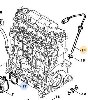 [ Peugeot 307 SW 2.0 hdi 110 an 2003 ] remplacement capteur niveau d'huile Niveau10