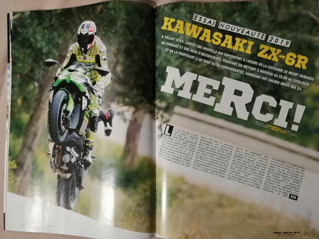 Kawasaki zx6r 2019  Img_2023
