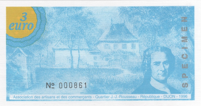 Premiers billets en Ecu/Euro 00212