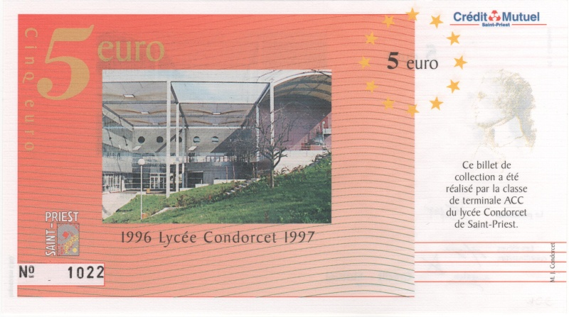 Premiers billets en Ecu/Euro 00311