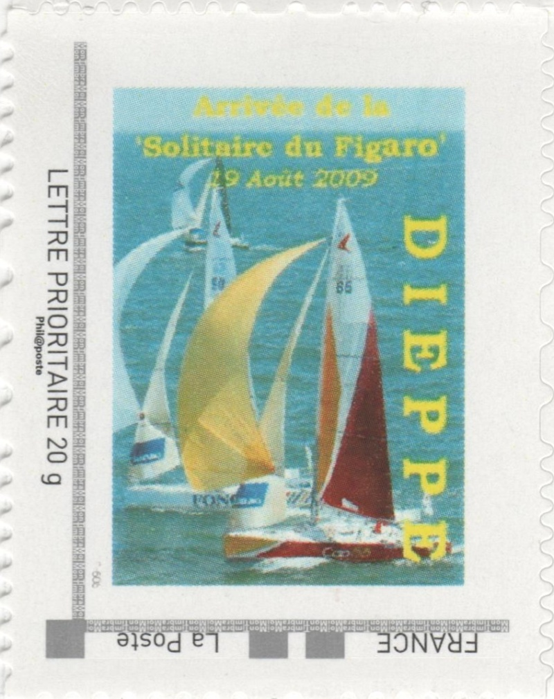 76 - Dieppe - Association Philatélique -Solitaire du Figaro  00410