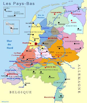 Cartes/Maps  Pays-Bas 350px-10