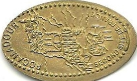 Elongated-Coin 4610