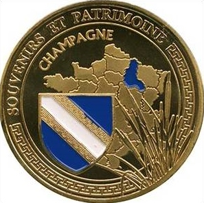 Souvenirs et Patrimoine 31mm  Der10