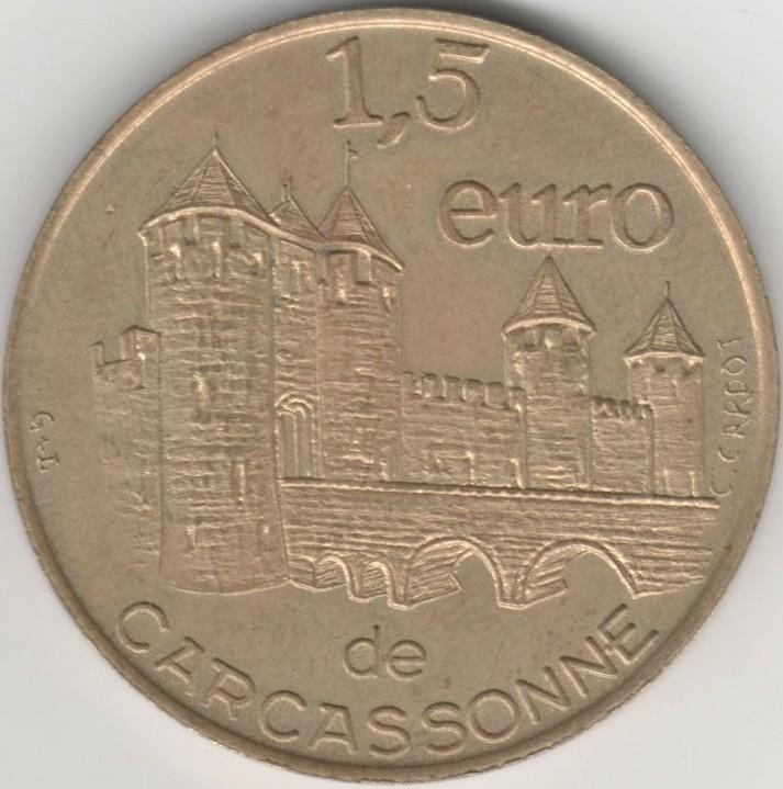 Carcassonne (11000)  [UEHY] Euro_c11