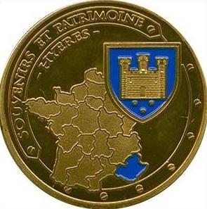 Souvenirs et Patrimoine 34mm  Hyere10
