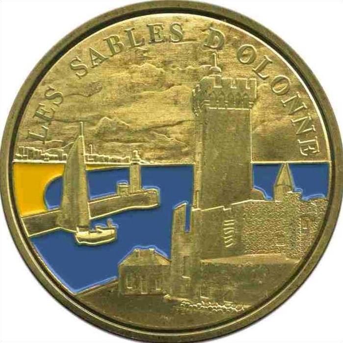 Souvenirs et Patrimoine 34mm  = 24 Sables10
