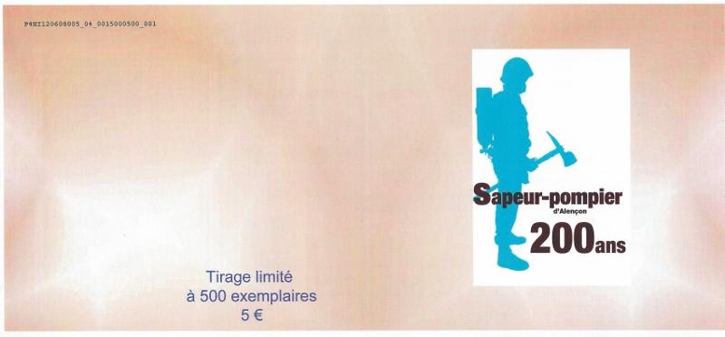 61 - Alençon - Sapeurs Pompiers Scan0012