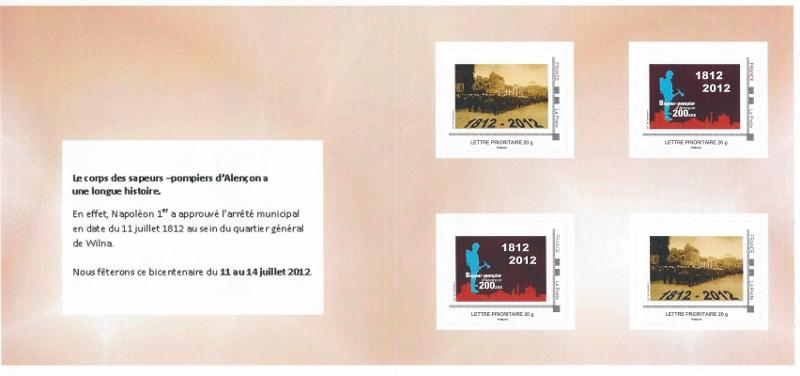 61 - Alençon - Sapeurs Pompiers Scan0013