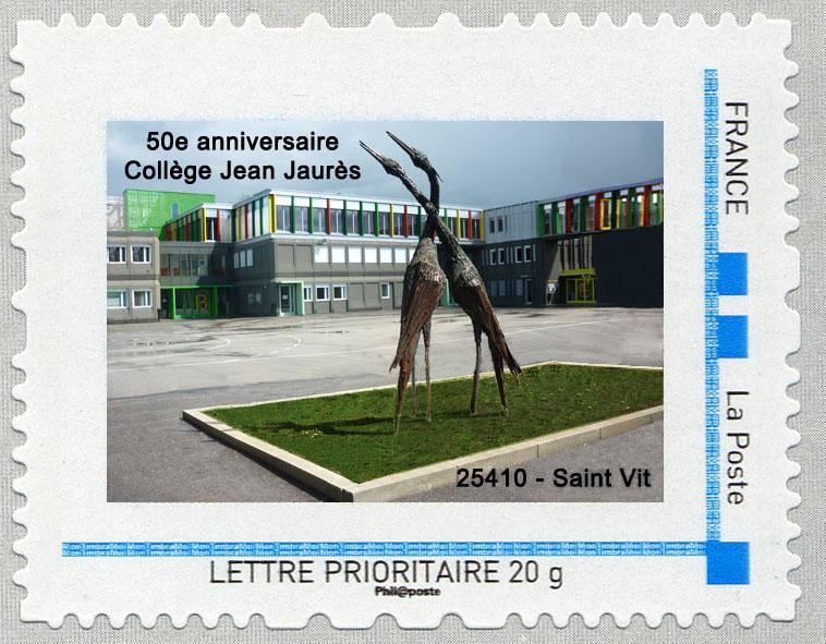 25 - Besançon - Société Philatélique   Timbre18