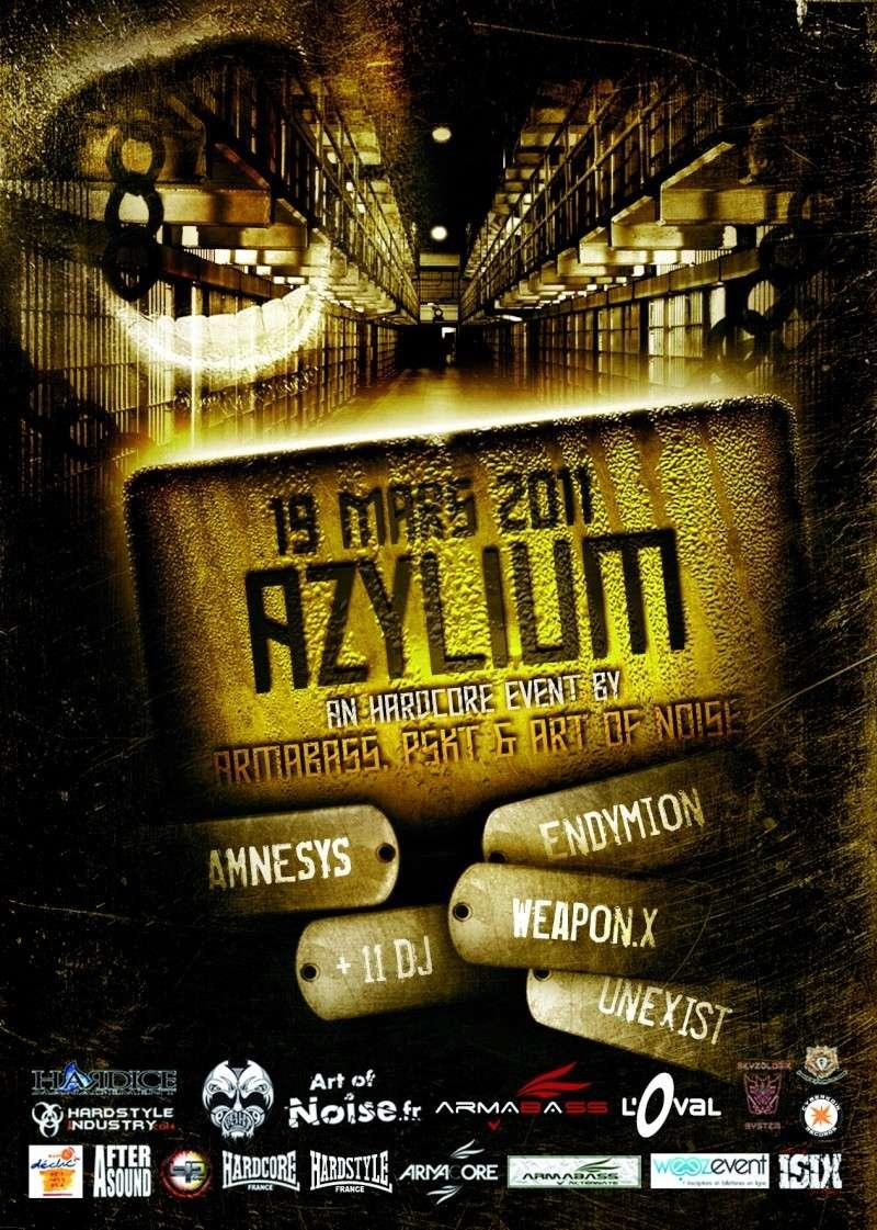 Azylium@ L'oval- Endymion+ Amnesys+ Unexist + Weapon X+ 11 djs Armaka12