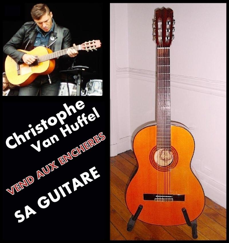 Mise aux enchéres Offrez-vous la guitare de Christophe Van Huffel du 17/02/2013 au 17/03/2013 VENDU Guitar10
