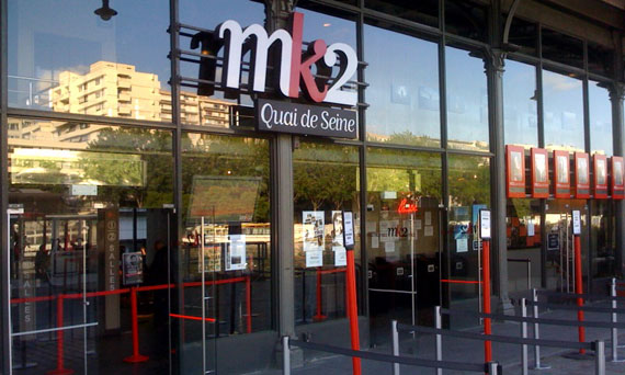 Christophe en concert au cinéma Mk2qua10