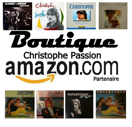 Boutique Christophe Passion Amazon Cd / Dvd / vinyl Nouvea26