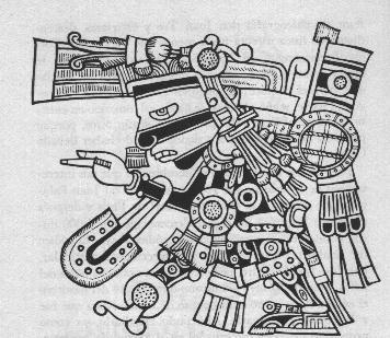 Dieu méso-américain Tezcatlipoca Tezcat10