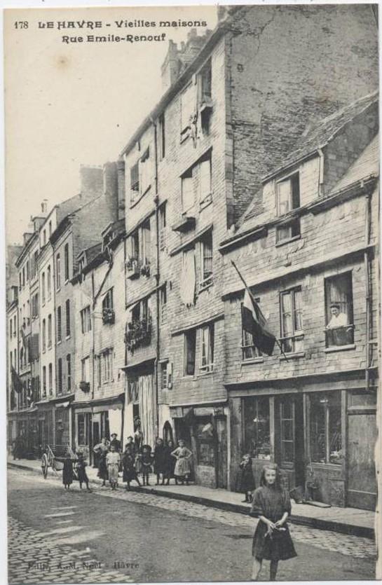 Le Havre - Rue Emile Renouf Rue-em10