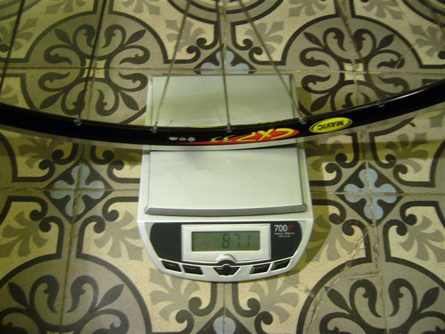 Vendue paire de roues EDCO Olympic /MAVIC CXP33/ SAPIM cxray P1000923
