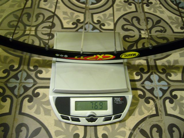 Vendue paire de roues EDCO Olympic /MAVIC CXP33/ SAPIM cxray P1000924