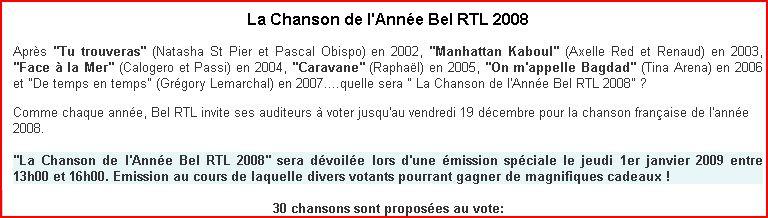 [01.01.09] RTL Belgique - Chanson française de l'année Captu257