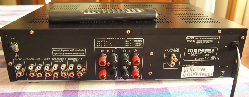 [Vendo] Roma + Spe. Amplificatore Integrato Marantz PM4001 160€ (+ss) Retro_10
