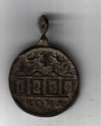 Médaille datée - Jubilé 1650 A1213