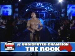 The Rock Veut Son premier match Gwdvd-12