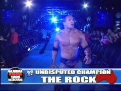 The Rock Veut Son premier match Gwdvd-13