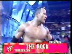 The Rock Veut Son premier match Nm01-311