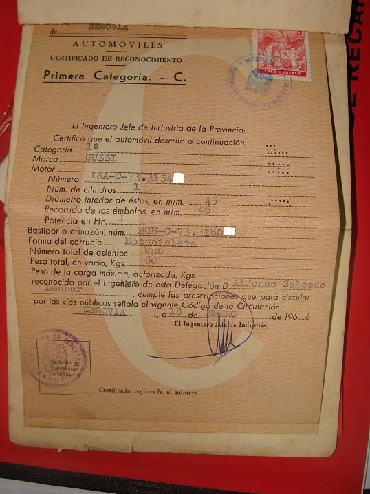 Proyecto: Guzzi Hispania Cardellino Docume10