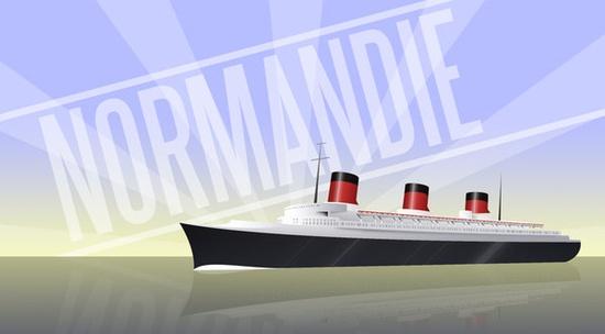 """ Normandie "" Disegn10"