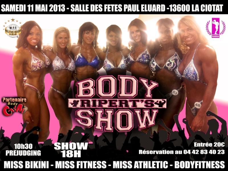 body - Ripert's Body Show 2013 Affich11