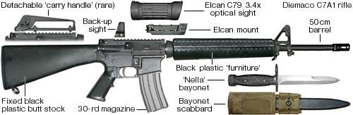 DIEMACO C7 / C8 (Colt Canada) 101-ri10