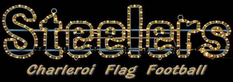 Charleroi Steelers - Flag Football - Football américain sans contact
