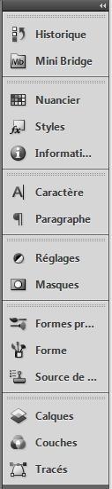 Comment configurer l'espace de travail sous PhotoShop 1410