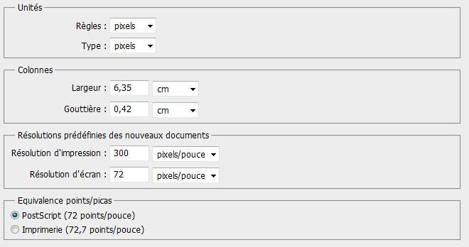 Comment configurer l'espace de travail sous PhotoShop 2010