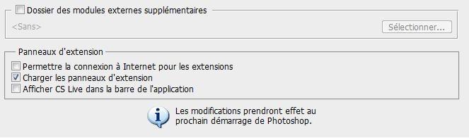 Comment configurer l'espace de travail sous PhotoShop 2210