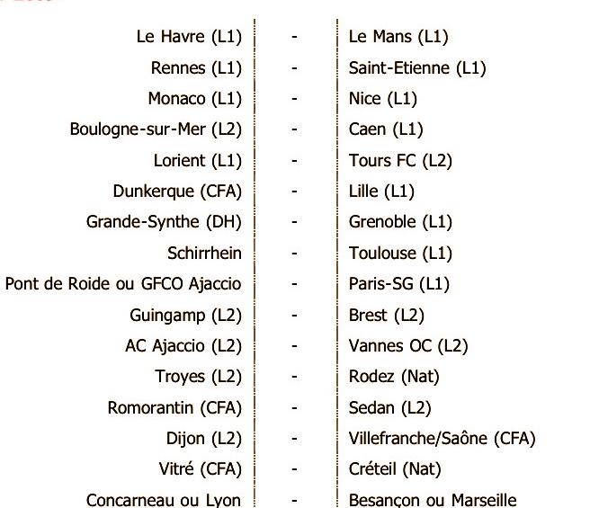 Coupe de France - 16èmes de Finale 4vb8zk10