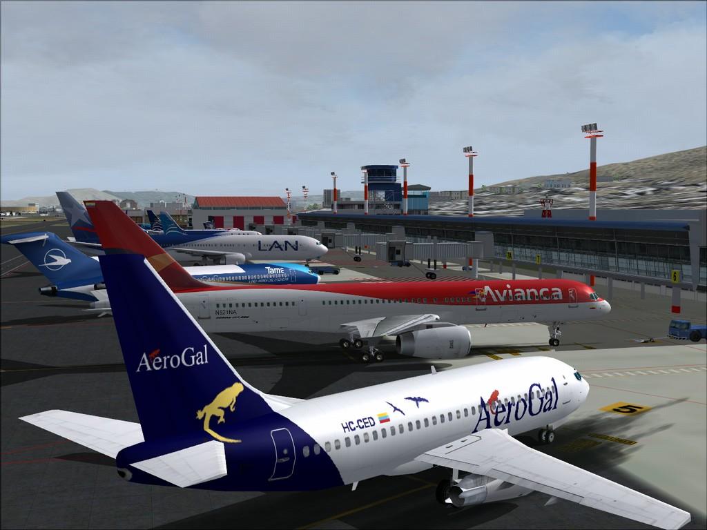 Vôo pelas Américas - Mariscal Sucre a Maiquetia Quito-14