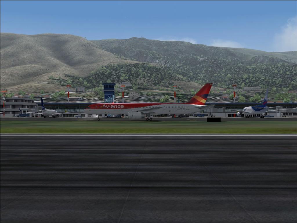 Vôo pelas Américas - Mariscal Sucre a Maiquetia Quito-17