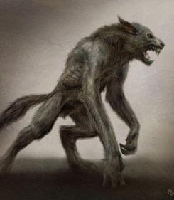 Seres fantasticos Lobo-p10